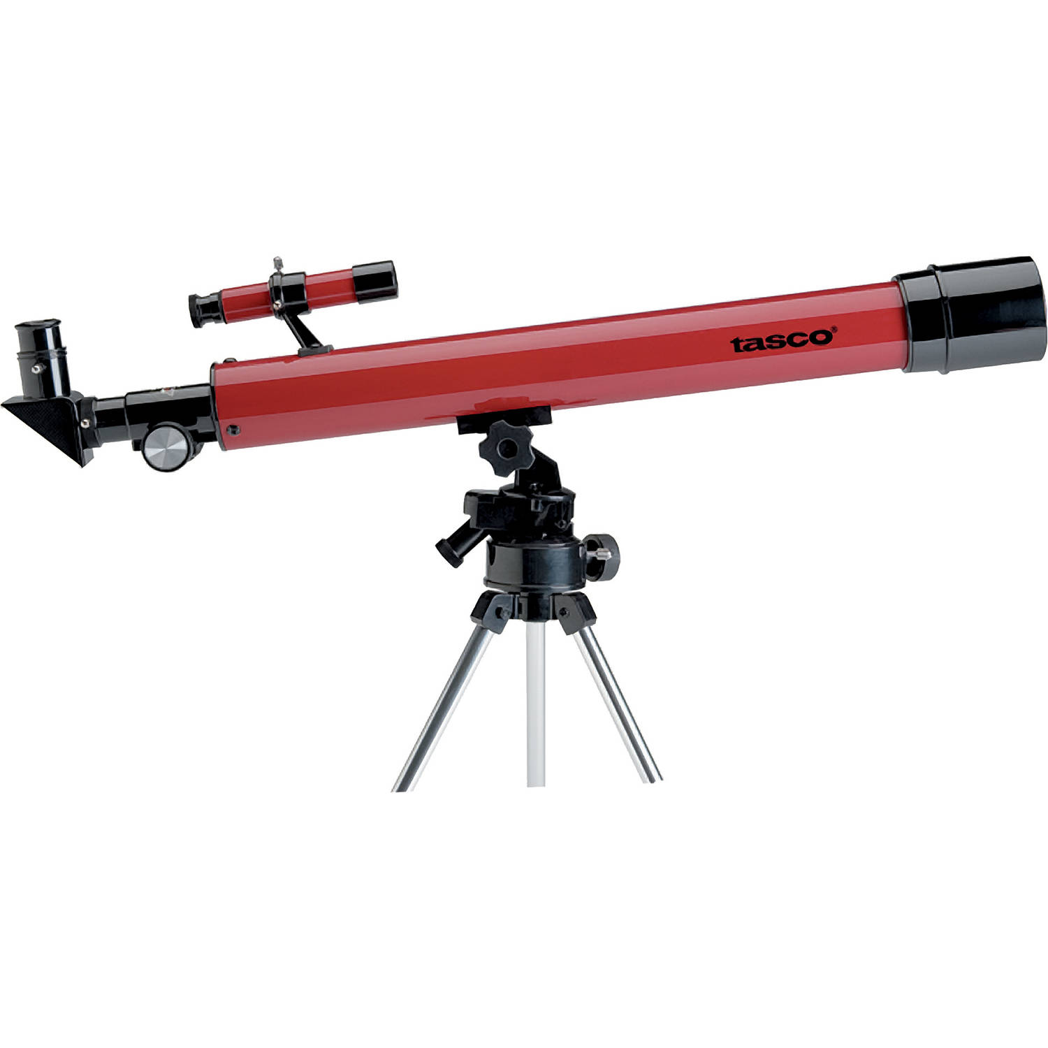 Tasco 50x50mm Lens Refractor Altazimuth Telescope, Red by Generic