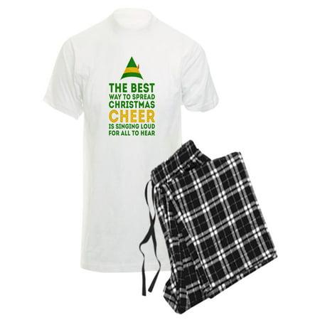 CafePress - Elf - Singing Loud Pajamas - Men's Light Pajamas (Elf Onesie For Men)