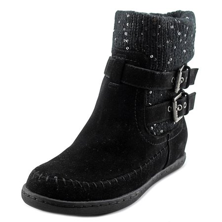 Womens Riesling Round Toe Ankle Cold Weather Boots