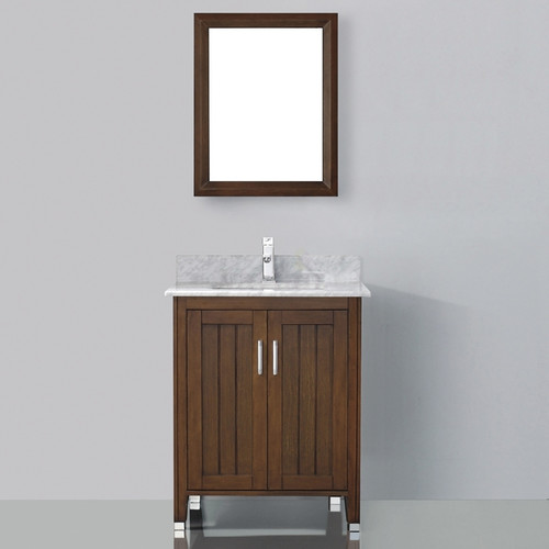 Bauhaus Bath Jacchi 28'' Single Bathroom Vanity Set with Mirror