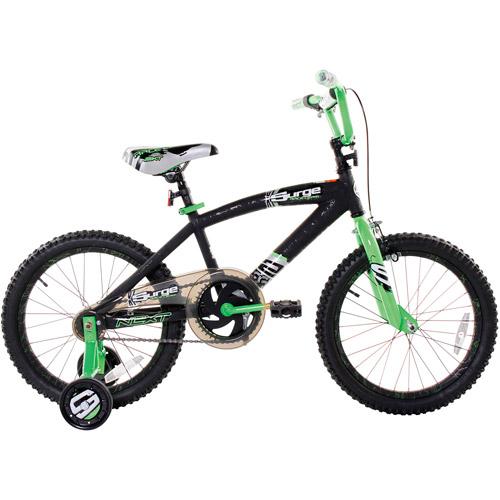 "18"" Surge Boys' Bike, Black"
