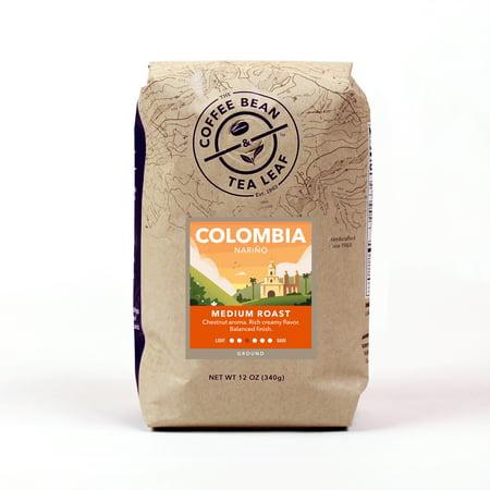 The Coffee Bean & Tea Leaf Colombia Nariño Medium Roast Ground Coffee 12 oz. Bag