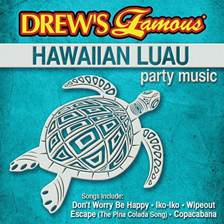 Hawaiian Lualu Party Music (CD) - Classic Halloween Party Music