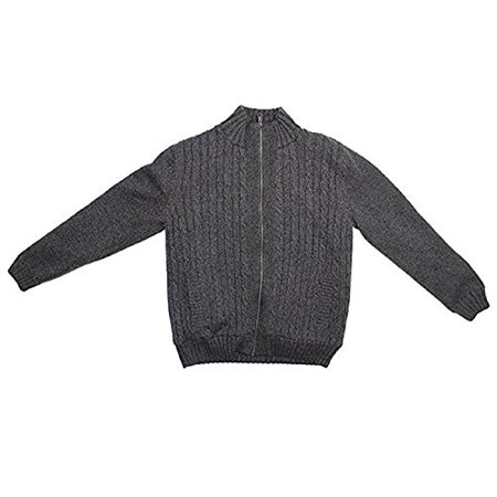 Boston Traders Boston Traders Mens Full Zip Sherpa Lined Cable