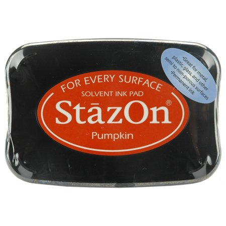Stazon Pumpkin - StazOn Solvent Ink Pad-Pumpkin