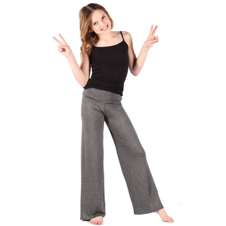 Lori & Jane Girls Grey Palazzo Pants ()