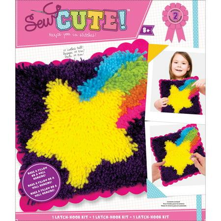 Sew Cute! Latch Hook Kit-Star](Latch Hook Kits For Kids)