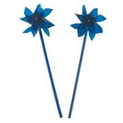 Blue Pinwheels (3Dz) - Party Favors - 36 Pieces