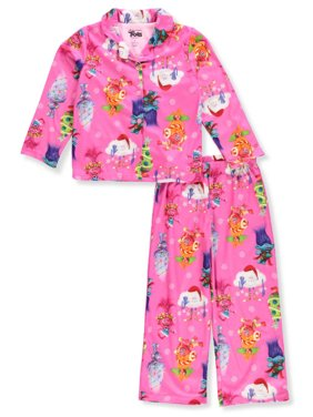 9fe258db2 Product Image DreamWorks Girls 2T-4T Trolls Coat Pajama Set