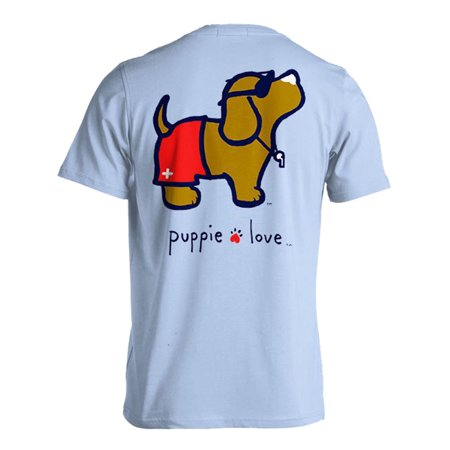 Puppie Love Lifeguard Pup Help Rescue Dogs - Dog Lifeguard Shirt