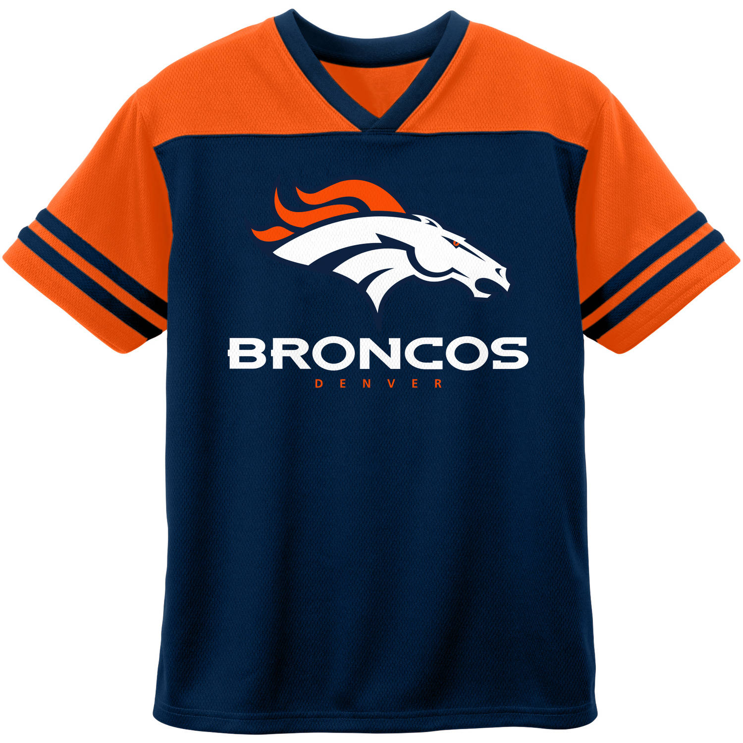 NFL Denver Broncos Toddler Short Sleeve Fashion Top