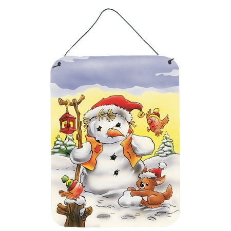 Scarecrow Snowman Wall or Door Hanging - Scarecrow Wall Hanging