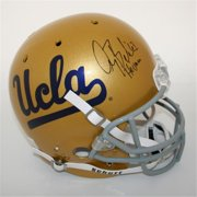 Victory Collectibles VIC-000072-SFR-TB-UCLA Gary Beban Autographed UCLA Throwback Replica Helmet