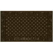 """Mainstays Scrolled Welcome Doormat, 18"""" x 30"""""""