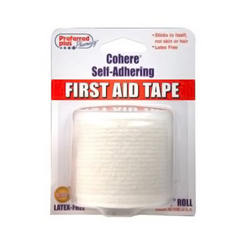 Preferred Plus Cohere Self Adhering First Aid Tape - 2 Rolles