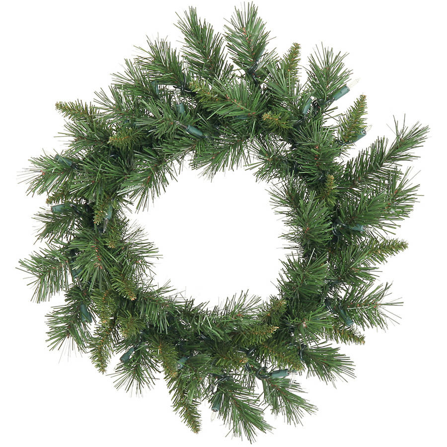 "Vickerman 24"" Imperial Pine Artificial Christmas Wreath, Unlit"