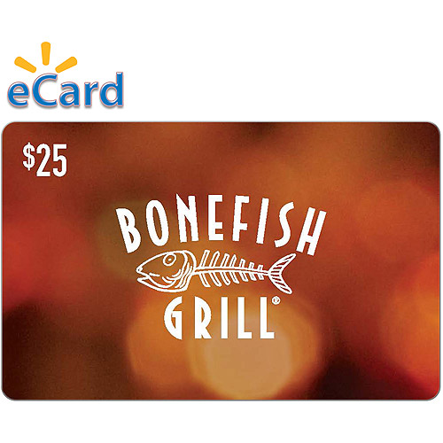 Bonefish Grill $25 (Email Delivery)