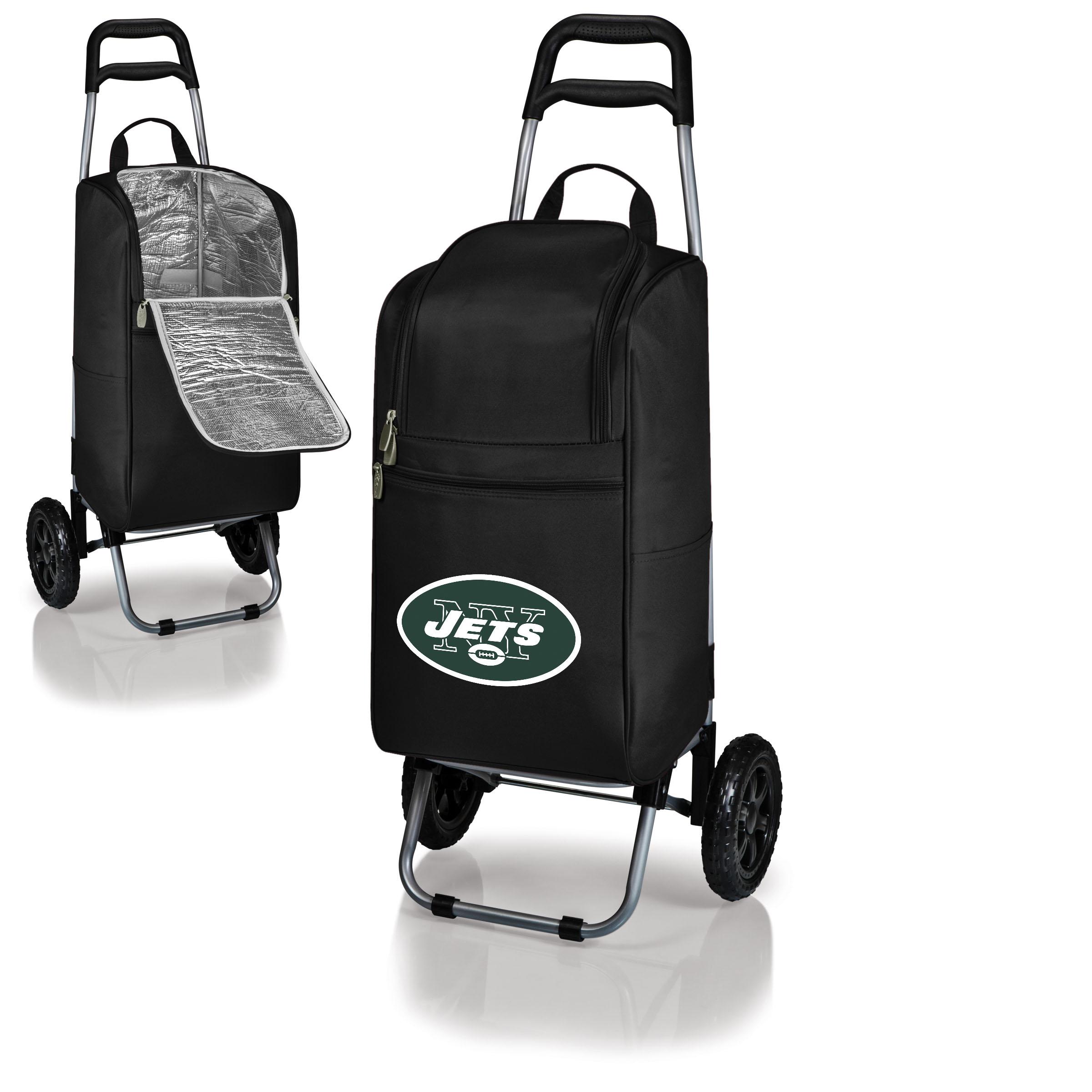 New York Jets Cart Cooler - Black - No Size