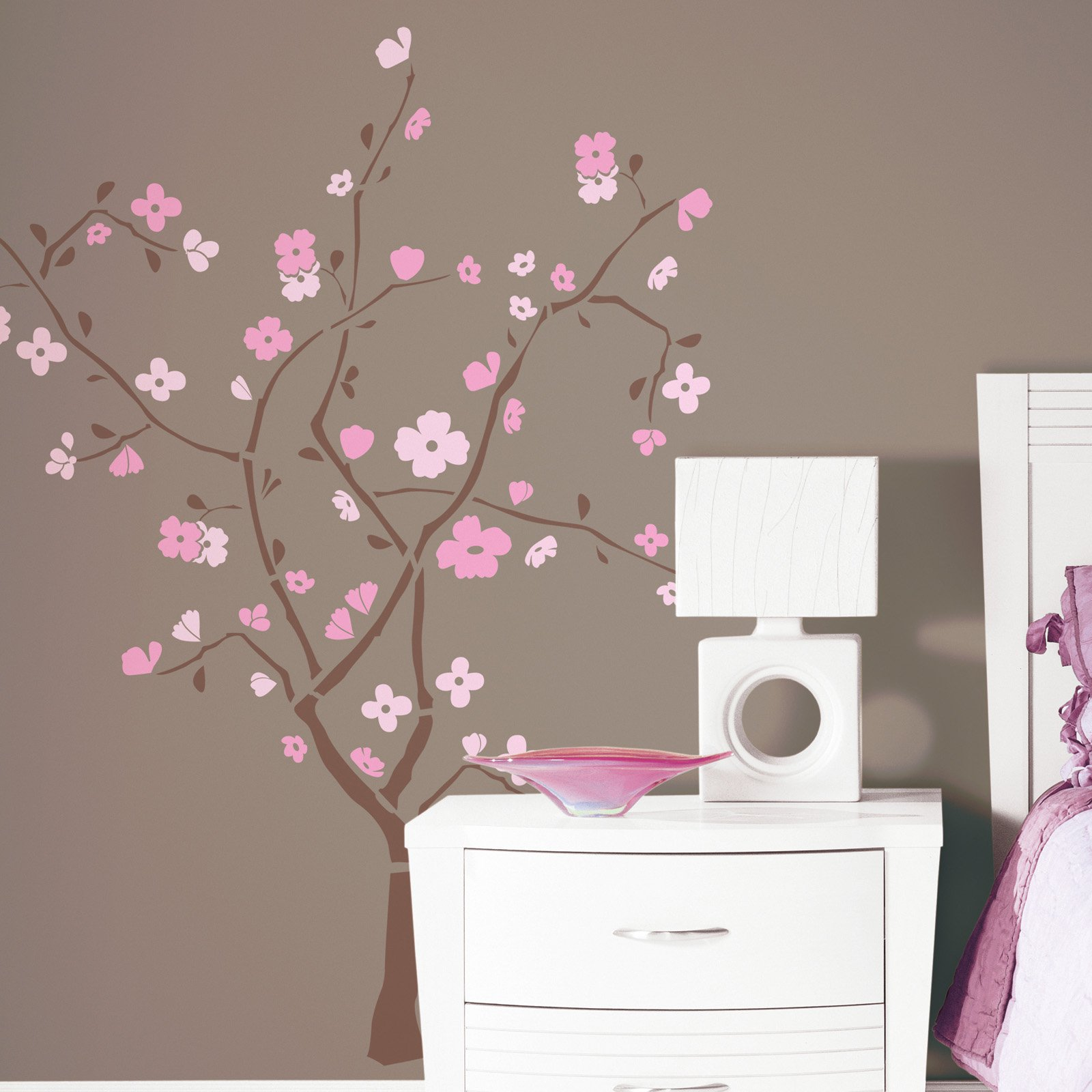 Spring Blossom Peel and Stick Giant Wall Decal - 40W x 60H in.
