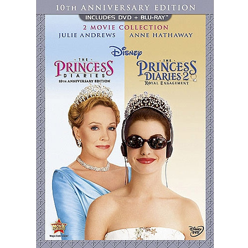 The Princess Diaries: 10 Anniversary Edition / The Princess Diaries 2: Royal Engagement (2-Disc DVD + Blu-ray) (Widescreen)