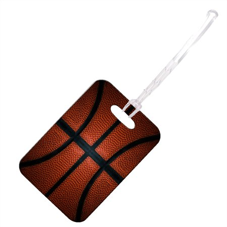KuzmarK Luggage Travel Bag Tag -  Basketball Life