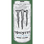 Monster Energy Drink Zero Ultra 4 PK, 16.0 FL OZ by Monster Energy