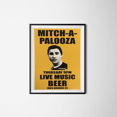 Mitch-A-Palooza Poster Old School Movie Wall Prop Print Godfather Mitch Martin (Movie Props)