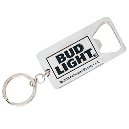 Bud Light Dilly Dilly Logo Beer Metallic Bottle Opener Keychain (Custom Keychain Bottle Opener)