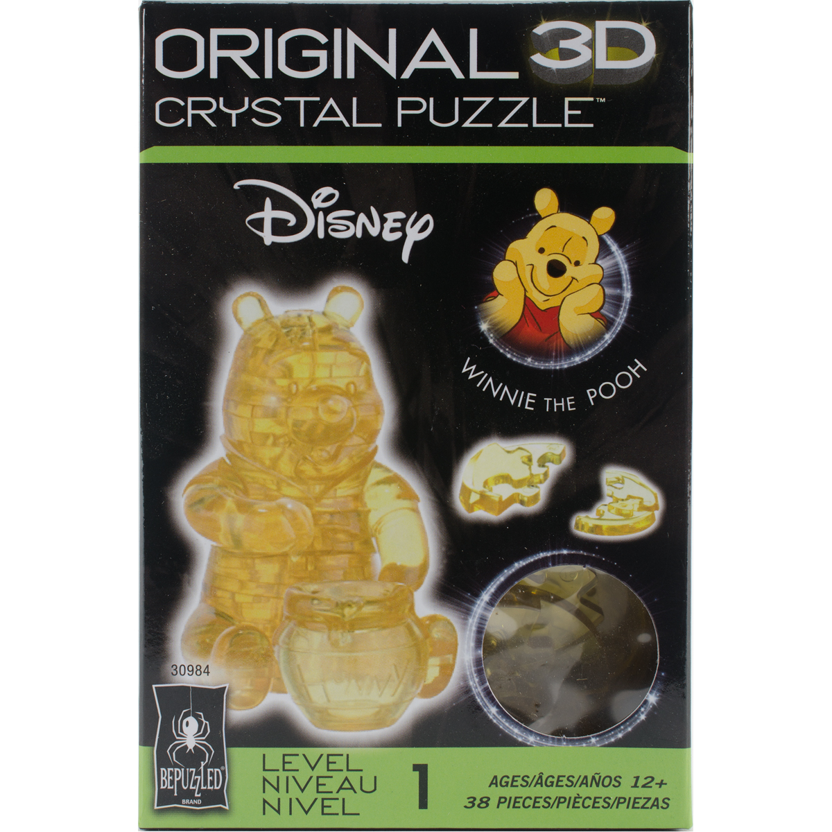 3D Licensed Crystal PuzzleWinnie The Pooh