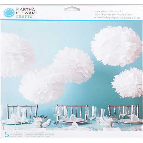 Martha Stewart Crafts Doily Lace Pom Pom Kit