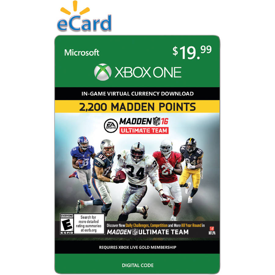 Madden NFL 16 (Xbox One) 2200 Points (Email Delivery)