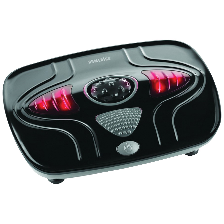 HoMedics Vibration Foot Massager with Heat, FMV-400HBK-THP
