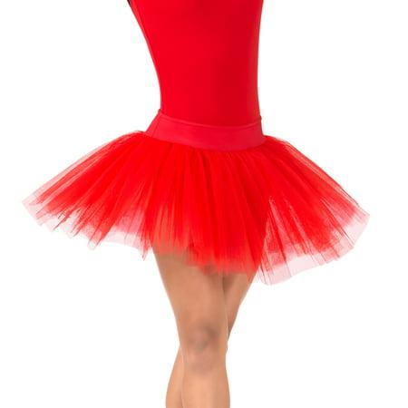 b785f8c72f2e Natalie - Womens 4-Layer Ballet Tutu Skirt - Walmart.com