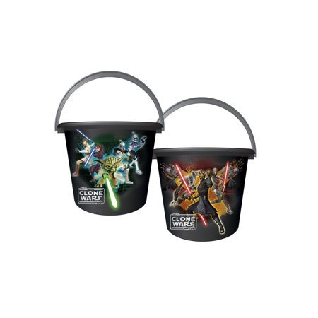 Star Wars Clone Wars Sand Pail Halloween Costume Accessory - Halloween Pails Mcdonalds