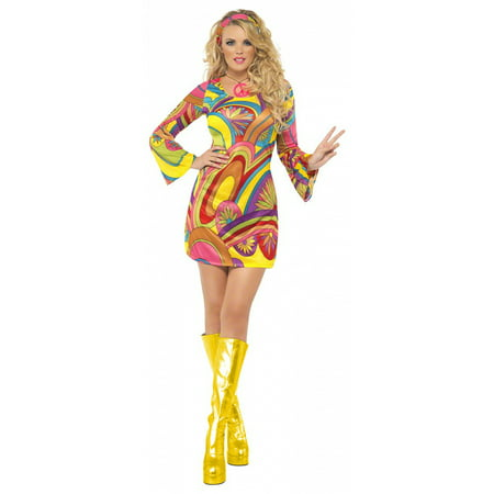 Flower Power Halloween Costume (60and#039;s Flower Power Adult Costume -)