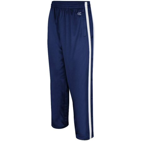 colosseum mens tearaway athletic pants (navy/white)