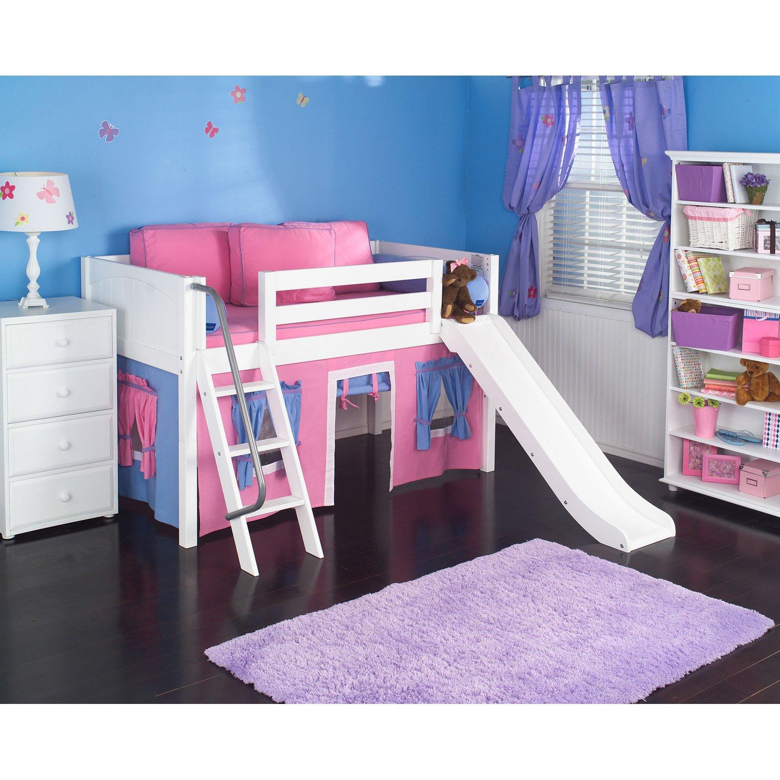 Girls loft bed with slide - Girls Loft Bed With Slide 7