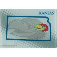 "Kansas Jayhawks 8"" x 11.75"" State of Mind Cutting board - No Size"