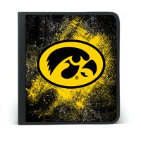 IOWA HAWKEYES ZIPPER BINDER