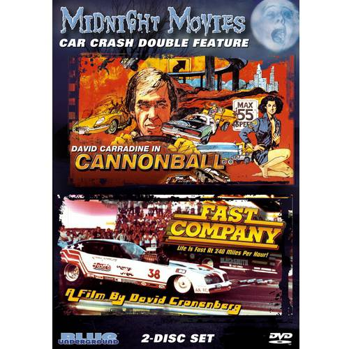 Midnight Movies: Car Crash Double Feature - Cannonball / Fast Company (Widescreen)