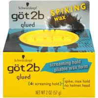 Got2b Glued Spiking Max Hold Hair Styling Wax, 2oz