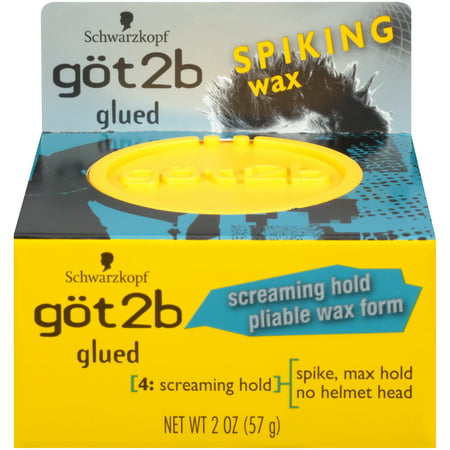 Got2b Glued Spiking Hair Wax, 2 Ounce