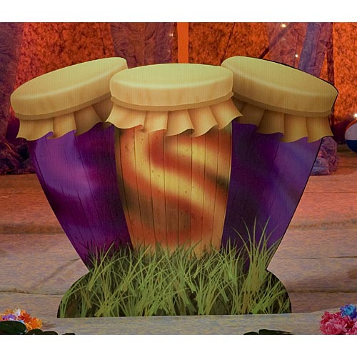 3 ft. 10 in. Conga Drum Standee by