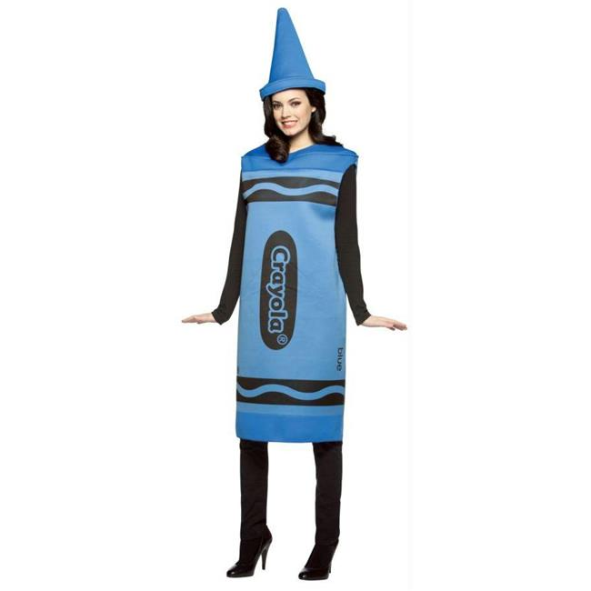 Costumes For All Occasions Gc450003 Crayola Costume Blue Adt Sm/Md - image 1 de 1