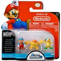 Ice Mario, Boom Boom & Hammer Bros Mini Figure 3-Pack