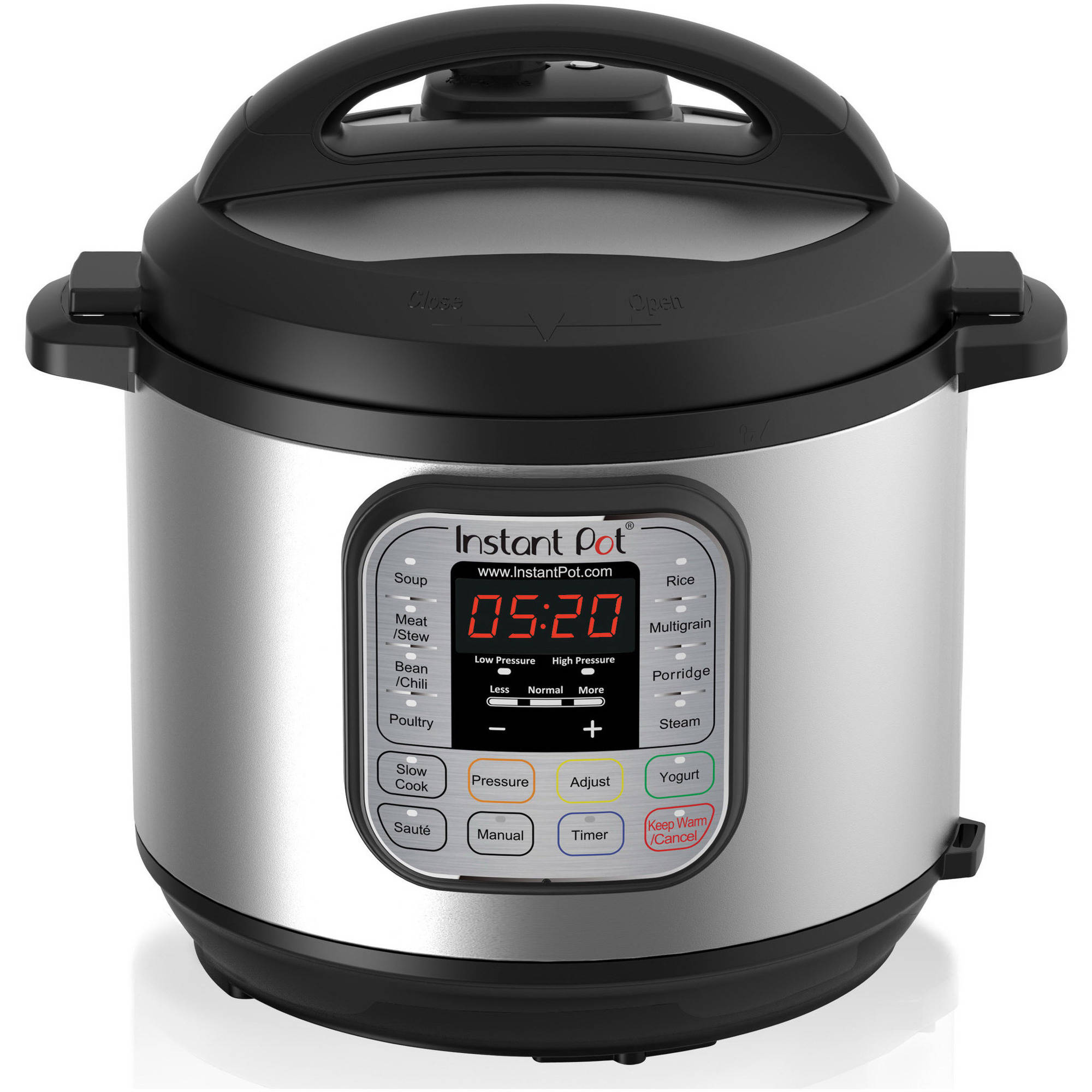 Instant Pot DUO60 6 Qt 7-in-1 Multi-Use Programmable Pressure Cooker, 6 Quart