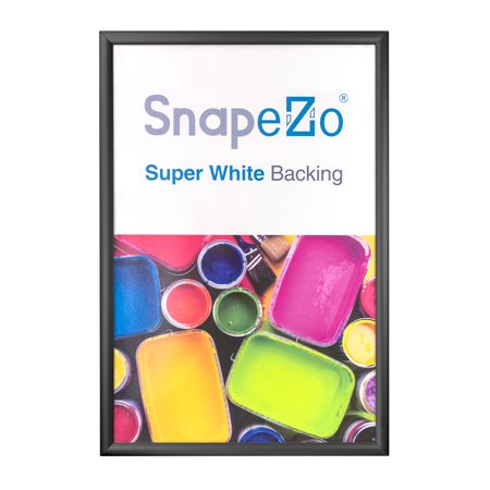 Black Snap Frame Photo Size 12x20 12 Inch Profile Walmart