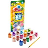 Crayola Washable Kid's Paint Assorted Colors 18 Each