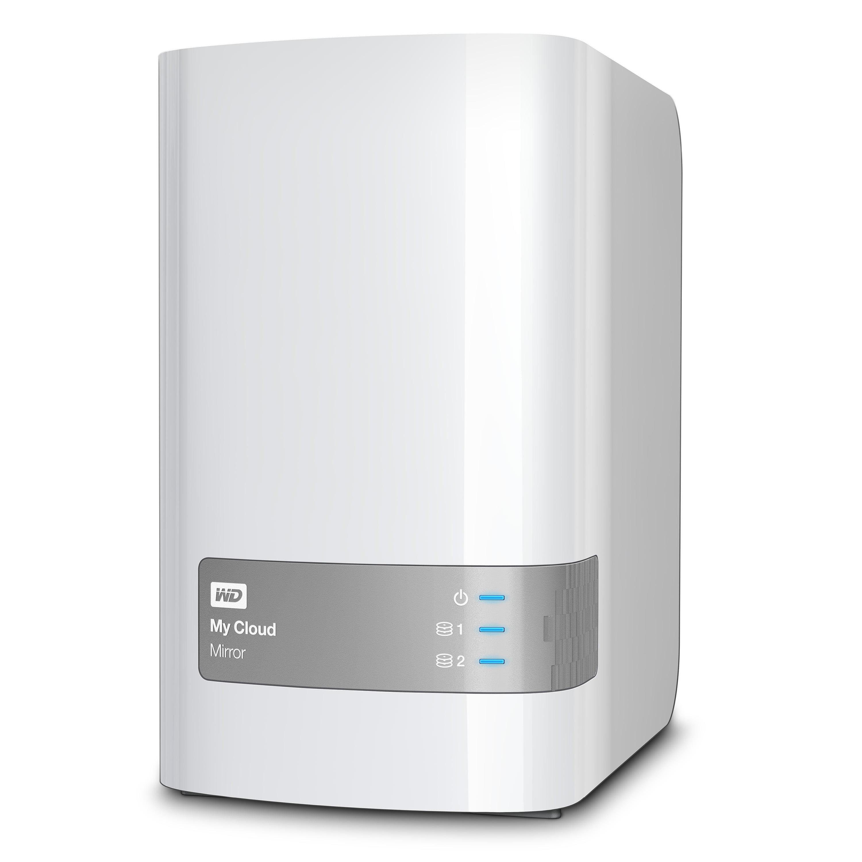 Wd 4tb My Cloud Mirror Gen 2 2 Bay Personal Cloud Storage Nas Network Attached Storage Wdbwvz0040jwt Nesn Walmart Com Walmart Com