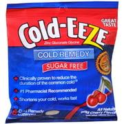 COLD-EEZE Lozenges Natural Wild Cherry Flavor Sugar Free 18 Each